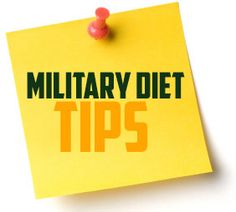 If you want to see maximum results for the Military Diet, don't go crazy on your four days off. Eat like you regularly would, or better, but don't overcompensate for the 3 days of dieting by bingeing on everything in sight. That's the very best tip for making the Military diet work for you.