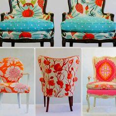 Chair upholstery ideas