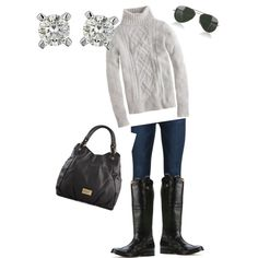 """winter casual"" by seatownprep on Polyvore"
