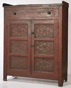 Antique Pie Safe Prices | antiques priceguide, kitchen & household, America, A painted pie safe ...