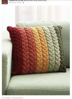 Almofada tricot
