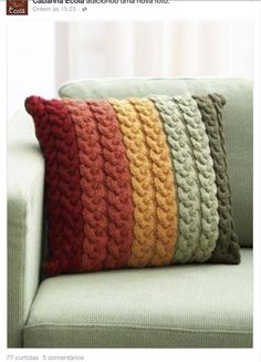 Pattern now available for free at Canadian Living online: Knit and Crochet ...