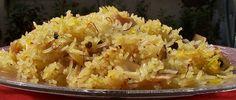 Modur Pulao; Kashmir Sweetened #Kashmiri rice with coconut