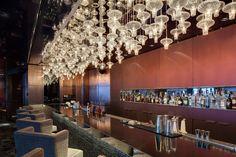 Raffles Hotel Istanbul, Turkey. #bar #lightingdesign #crystal #lanterns #ambiance
