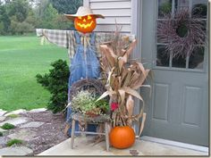 Yet another scarecrow...