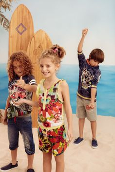 Now that the school holidays are nearing, it's time to think about your kids wardrobe! Look no further than Desigual's Spring Summer 16 collection...