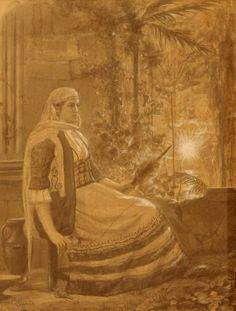 Ράλλης Θεόδωρος – Rallis Theodoros [1852-1909] GREEK COSTUME Photographs Of People, Old Photographs, Old Greek, Egypt, Greece, The Past, Painting, Animals, Art