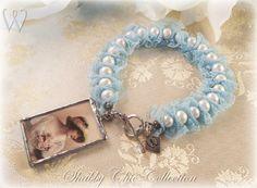 Shabby Chic inspired bracelet by Wilja-of-Sweden