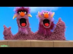 """Sesame Street: The Two-Headed Monster - """"Who Has More Milk?"""" - More/Less/Equal"""