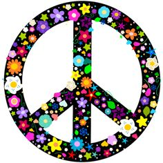 peace sign | Floral Peace Sign T Shirt 11130443