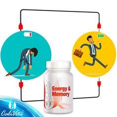 Energy  Memory este un supliment alimentar complex cu efecte stimulatoare, care conţine cafeină naturală din guarana, lecitină, vitamine pentru stimularea activităţii fizice şi mentale, minerale şi antioxidanţi.  Am creat acest produs pentru cei ce preferă să aleagă metode naturale pentru a-şi menţine nivelul de performanţă şi concentrare în perioadele de tensiune fizică sau mentală. Vitamins, Memories, Memoirs, Souvenirs, Vitamin D, Remember This