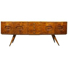 Sideboard, Italy 1940 attributed Gio Ponti | From a unique collection of antique and modern sideboards at https://www.1stdibs.com/furniture/storage-case-pieces/sideboards/