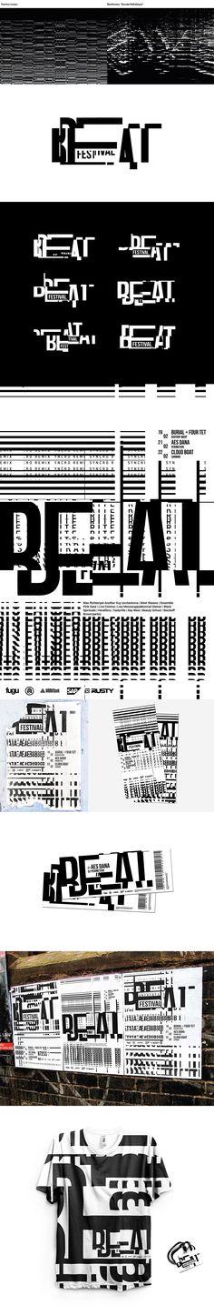 Beat Festival | Brand identity on Behance