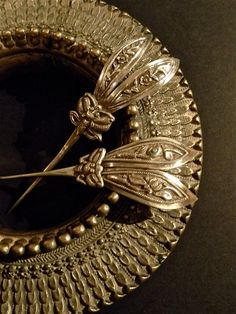 Antique Chinese Silver Bat Hairpins by luxethnic on Etsy, $189.00. SOLD