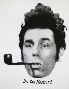 "Dr. Martin Van Nostrand. - Kramer (The Brilliant Aliases Of ""Seinfeld"") | By: Sarah Karlan, via BuzzFeed, via YouTube (#seinfeld)"