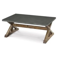 Magnussen Lybrook Wood Rectangular Cocktail Table - Coffee Tables at Hayneedle