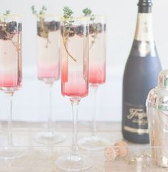 9 Delicious Champagne Cocktails to Celebrate a Sparkling Spring