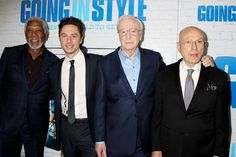 Michael Caine Morgan Freeman Alan Arkin Ann-Margret Riff on Going in Style