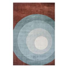 Momeni New Wave Discovery Teal NW-82 Area Rug - NEWWANW-82TEL