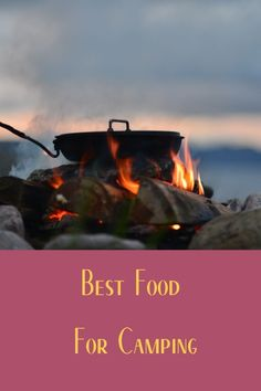 One of the best things about camping is the food. Learn how to choose the best options for food while out camping.