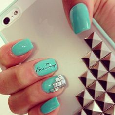 stylish studded manicure ideas studdednails