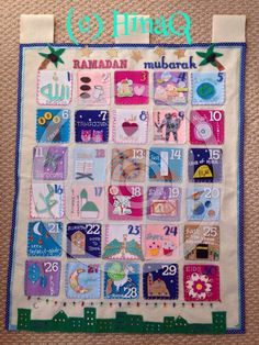 Huge Kids Ramadan Calendar with 30-day von HinasHandmadeCrafts
