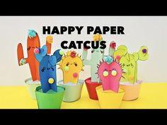 hello, Wonderful - DIY HAPPY CACTUS PAPER PLANTS WITH TEMPLATES