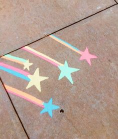 Chalk art, The sight of kids drawing on the pavement with sidewalk chalk is practically guaranteed to induce a, Easy Chalk Drawings, 3d Drawings, Chalk Wall, 3d Chalk Art, Chalk Design, Sidewalk Chalk Art, Sidewalk Ideas, Chalkboard Art, Art For Kids