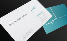 Future Mechanics Corporate Identity by Roger Oddone