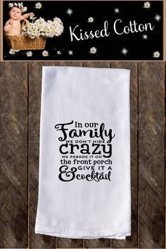 Our decorative flour sack towels have funny sayings that anyone with a sense of humor will appreciate. These are perfect gifts for all occasions! Flour sack towels are used for decorative purposes however, they are able to be used for everyday use. Flour sack towels measure 28x28 inches Dish Towels, Tea Towels, Kitchen Humor, Kitchen Quotes, Kitchen Vinyl, Kitchen Gifts, Diy Kitchen, Kitchen Gadgets, Towel Crafts
