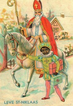 Sinterklaas ansichtkaarten uit begin 1900