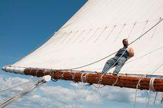 Windjamming is... getting unplugged. #ThisIsWindjamming  www.sailmainecoast.com
