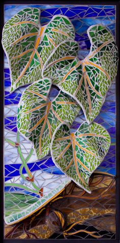 "Criativa Arts -  Contemporary Glass Mosaics    In addition to 2D wall panels and installations, see these new 3D/High Relief Glass Mosaics:Birch Forest, Koi Dance and Life to Life  Birch Forest  30 inches high and 5 feet wide    Birch Forest detail.  Over a thousand hand cut pieces crafted into a single mosaic      Koi Dance   Fish, leaves and water rise and fall across this unique mosaic.      Life to Life 36x20""   Hundreds of individual glass pieces give the leaves vibrancy and sh..."