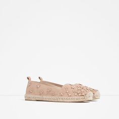 Image 3 of LEATHER ESPADRILLES WITH STARS from Zara