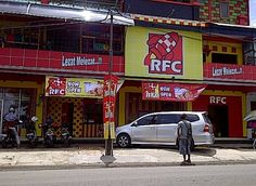 Rocket Fried Chicken in Sukabumi, Jawa Barat