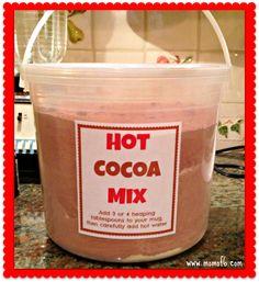 Homemade Hot Cocoa Mix!