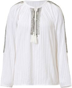 Antik Batik Bead and Sequin Embroidered Tunic Top on shopstyle.com