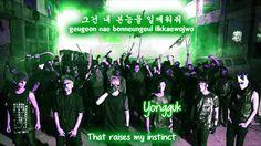 B.A.P Excuse Me [Eng Sub + Romanization + Hangul] HD