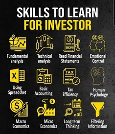 Successful Business Tips, Business Money, Value Investing, Investing Money, Financial Literacy, Financial Tips, Skills To Learn, Stock Trading Strategies, Accounting And Finance