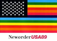 The Power of Independent Trucking: concert: New Order 16 June 1989 Irvine, CA *remastered* New Order True Faith, Peter Saville, Joy Division, Tour T Shirts, Album Covers, Tours, Concert, News, Design