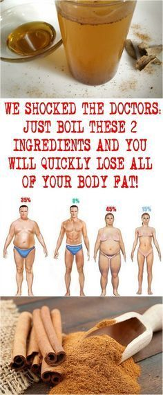 WE SHOCKED THE DOCTORS: JUST BOIL THESE 2 INGREDIENTS AND YOU WILL QUICKLY LOSE ALL OF YOUR BODY FAT!
