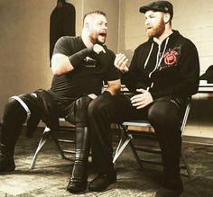 Kevin Owens, Finn Balor, Randy Orton, Professional Wrestling, Wwe Superstars, Life Is Like, Zayn, Cute Boys, Best Friends
