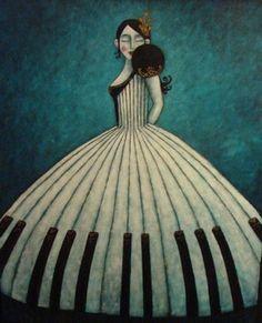 French:  Robe Piano
