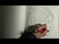 This is a step-by-step instruction video to help people learn how to draw a face in a profile position. Grab a pencil and your sketchbook and I'll show slow clear steps to get there. We will use these skills in the more creative open ended sketch coming up. If you would like a face to look at while you are drawing, go get a profile from a magazi...