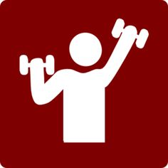 sports clipart image of weightlifter weight bar weightlifter