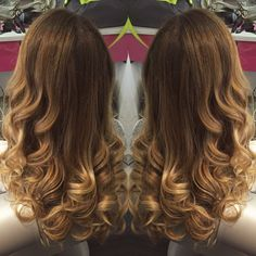 Loving the color & BLO/OUT!