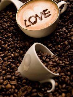 ·:*¨¨*:Coffee♥Art:*¨¨*:·. beans Coffee - Jürgen S.·:*¨¨*:Coffee♥Art:*¨¨*:·. I Love Coffee, Coffee Art, Coffee Break, My Coffee, Coffee Drinks, Morning Coffee, Coffee Cups, Decaf Coffee, Coffee Barista