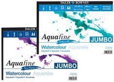 Aquafine Watercolour Paper | Daler Rowney