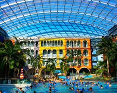 The world's largest Spa, Therme Erding, near Münich - Germany