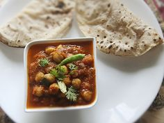 Hearty and full of flavor, chole—Indian chickpeas in a spiced gravy—is a delicious meal by itself. Each region has its own unique version of this dish and the Punjabis arguably make one of the finest dishes out of this humble legume.